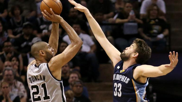 Game 2: Spurs 93, Grizzlies 88