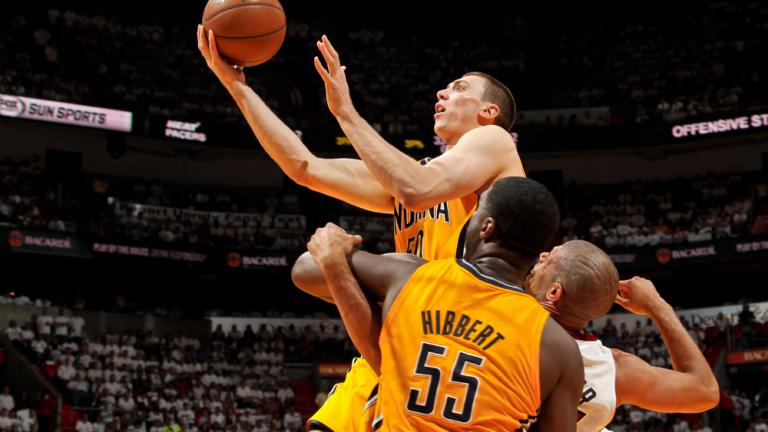 Game 1: Heat 103, Pacers 102 (OT)