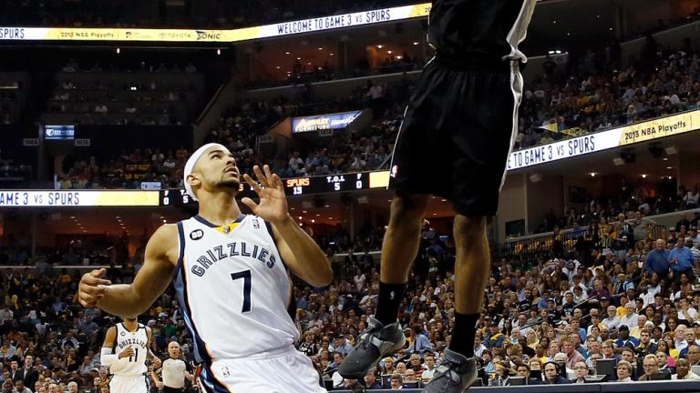 Game 3: Spurs 104, Grizzlies 93