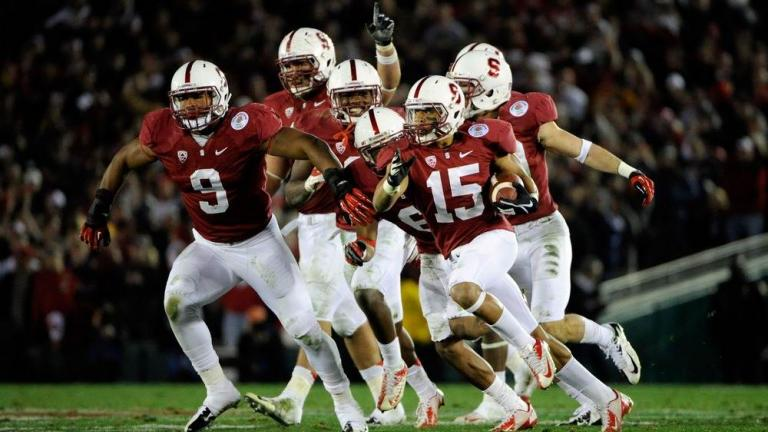 Rose Bowl: No. 8 Stanford 20, Wisconsin 14