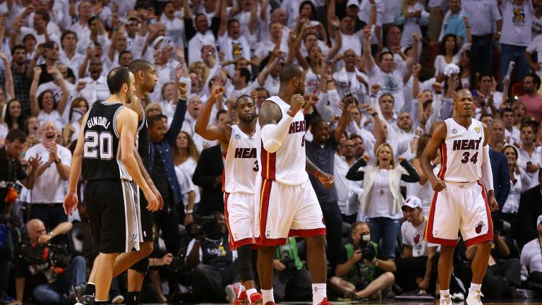 Game 6: Heat 103, Spurs 100