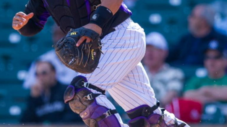 Wilin Rosario, Colorado Rockies, 25