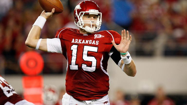 9. Ryan Mallett,<br> Arkansas, QB