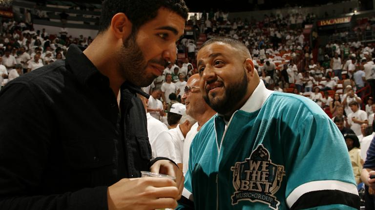 Drake and the DJ