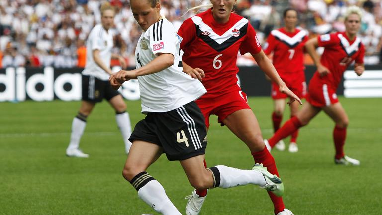 Group A: Germany 2, Canada 1