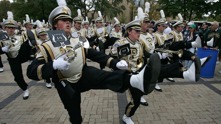 Purdue University All-American Marching Band