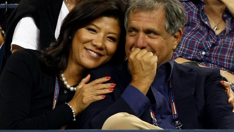 Julie Chen and Les Moonves
