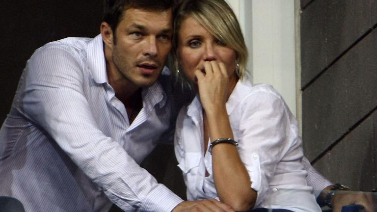 Paul Sculfor and Cameron Diaz