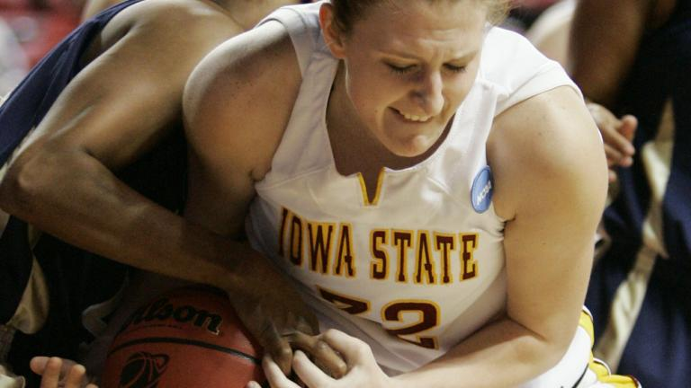 (4) Iowa State 85, (13) East Tennessee State 53