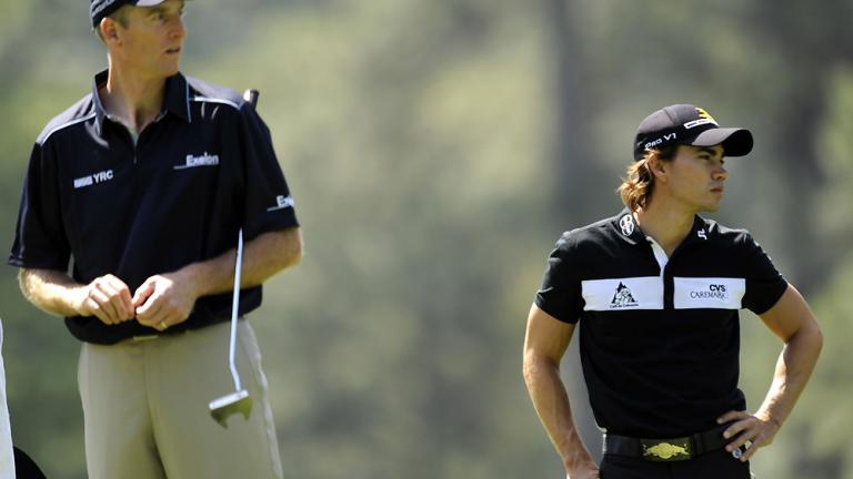 Looking up to Furyk