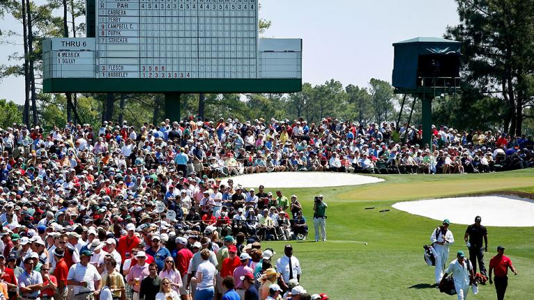Fans flock to Augusta on final day