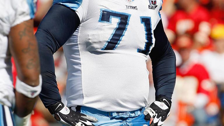 6. Tennessee Titans: Michael Roos, T
