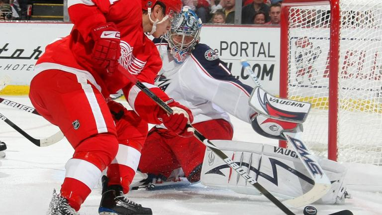 Game 1: Red Wings 4, Blue Jackets 1