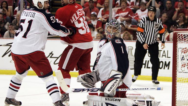 Game 2: Red Wings 4, Blue Jackets 0