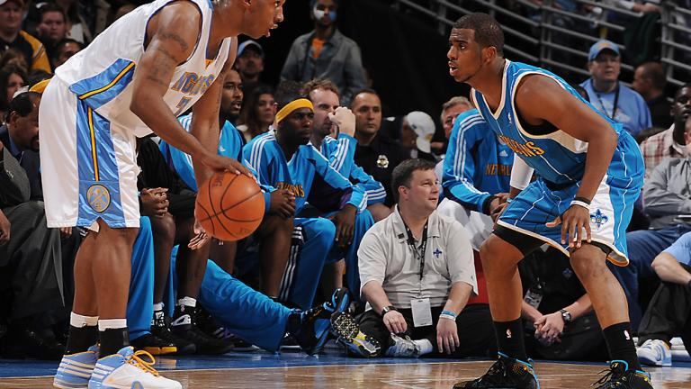 Game 1: Nuggets 113, Hornets 84