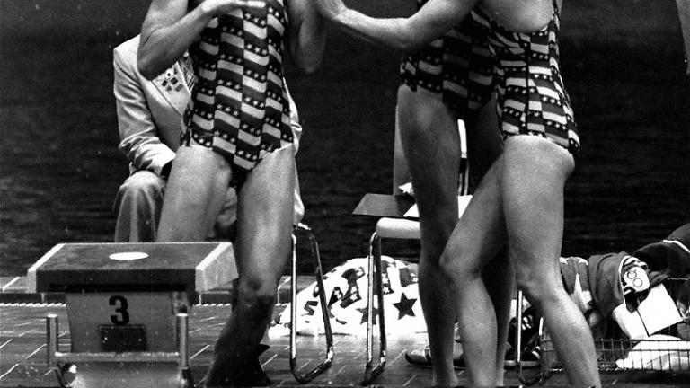 1976 Women's 4x100m Freestyle Relay Team
