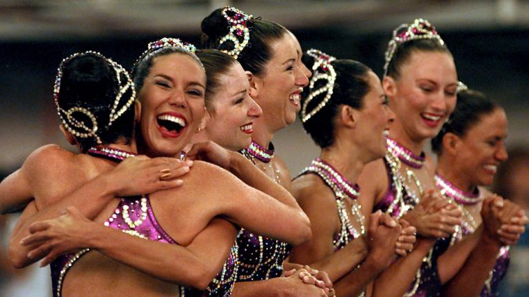 1996 Synchronized Swimming Team
