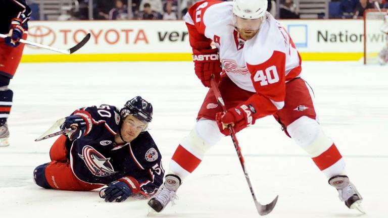 Game 3: Red Wings 4, Blue Jackets 1