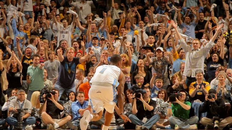 Game 5: Nuggets 107, Hornets 86