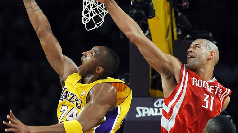 Game 5: Lakers 118, Rockets 78