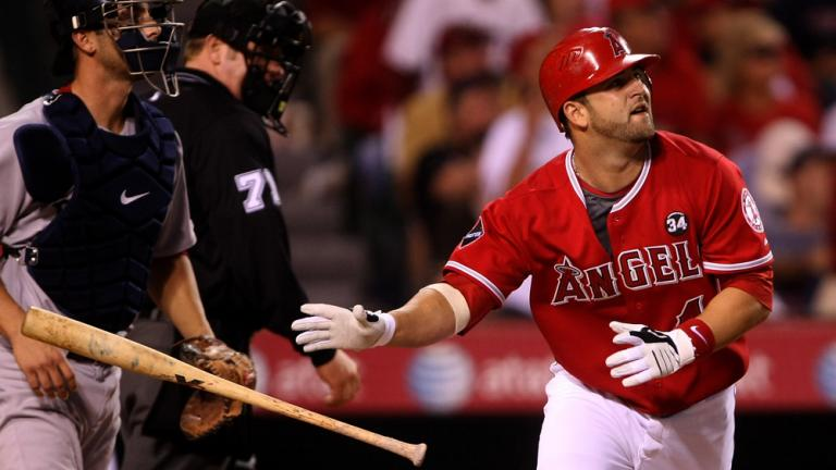 Mike Napoli, C/DH, Los Angeles Angels