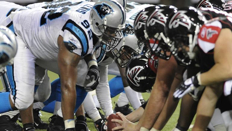 9. Falcons vs. Panthers