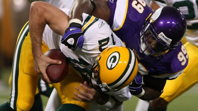 6. Packers vs. NFC North
