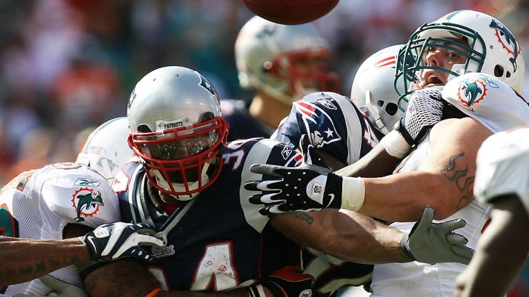 7. Patriots vs. Dolphins