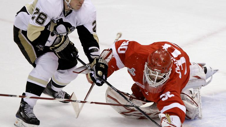 Game 1: Red Wings 3, Penguins 1