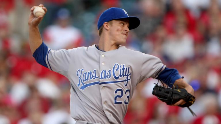 1. Zack Greinke, Kansas City Royals