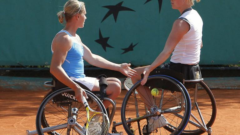Women's wheelchair doubles