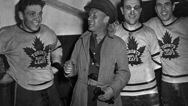 1942: Leafs 3, Red Wings 1