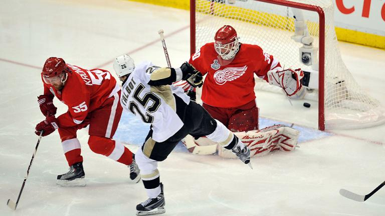 Game 7: Penguins 2, Red Wings 1