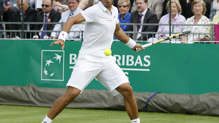 """1. Rafael Nadal<br/> <font color=""""red""""><b>Withdrew due to injury</b></font>"""