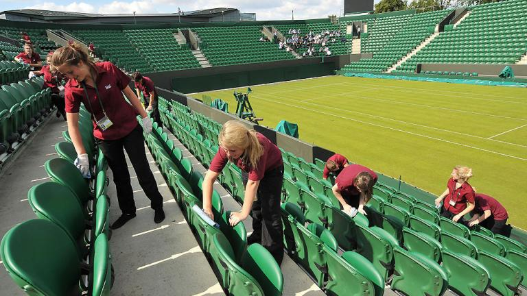Readying the courts
