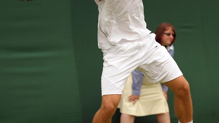 Leaping forehand