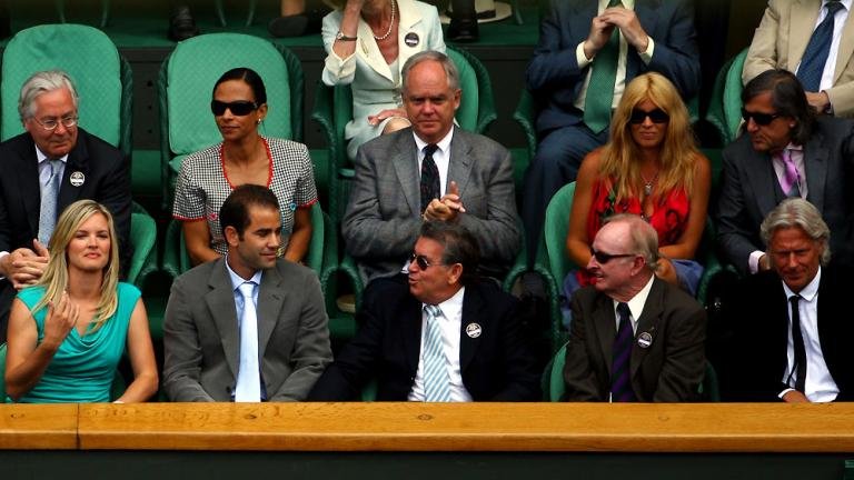 Who's who of tennis