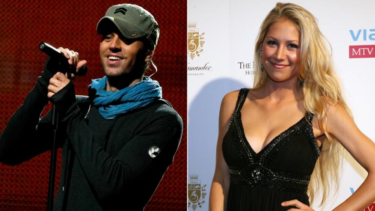 5. Enrique Iglesias and Anna Kournikova