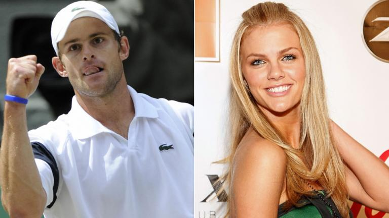 4. Andy Roddick and Brooklyn Decker