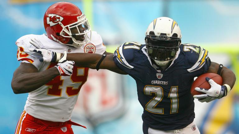 1. LaDainian Tomlinson, RB, Chargers