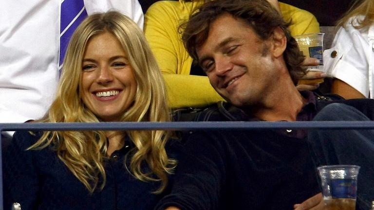 Sienna Miller and George Baker