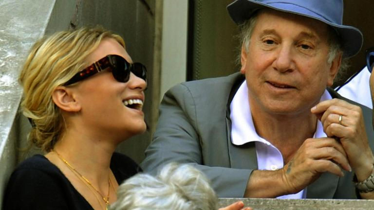 Ashley Olsen and Paul Simon