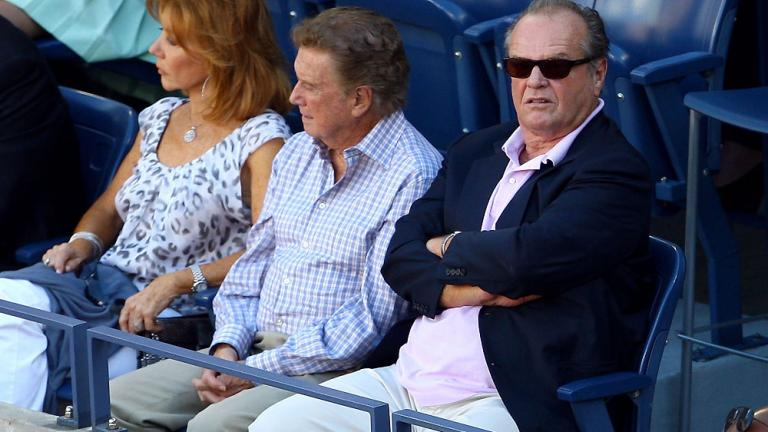 Joy Behar, Regis Philbin, and Jack Nicholson