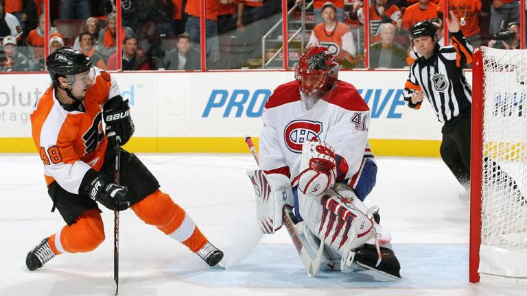 Game 2: Flyers 3, Canadiens 0