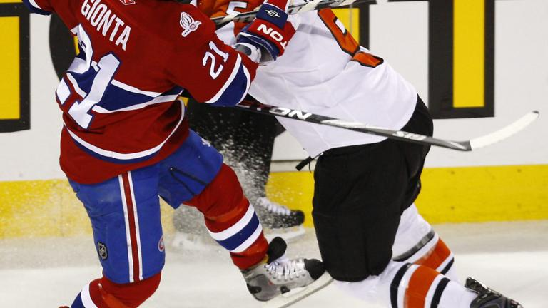 Game 4: Flyers 3, Canadiens 0