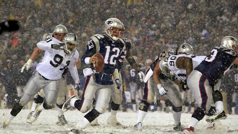 The Tuck Rule Game: 2001 AFC divisional playoffs