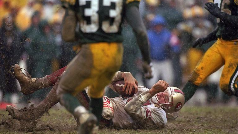 The Mud Bowl: 1996 NFC divisional playoffs