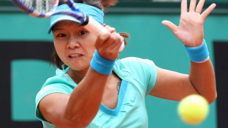 A sharp game by Li Na