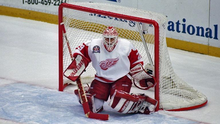 1997: Mike Vernon - Detroit Red Wings