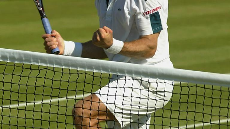 2002: Bastl forces Sampras out early